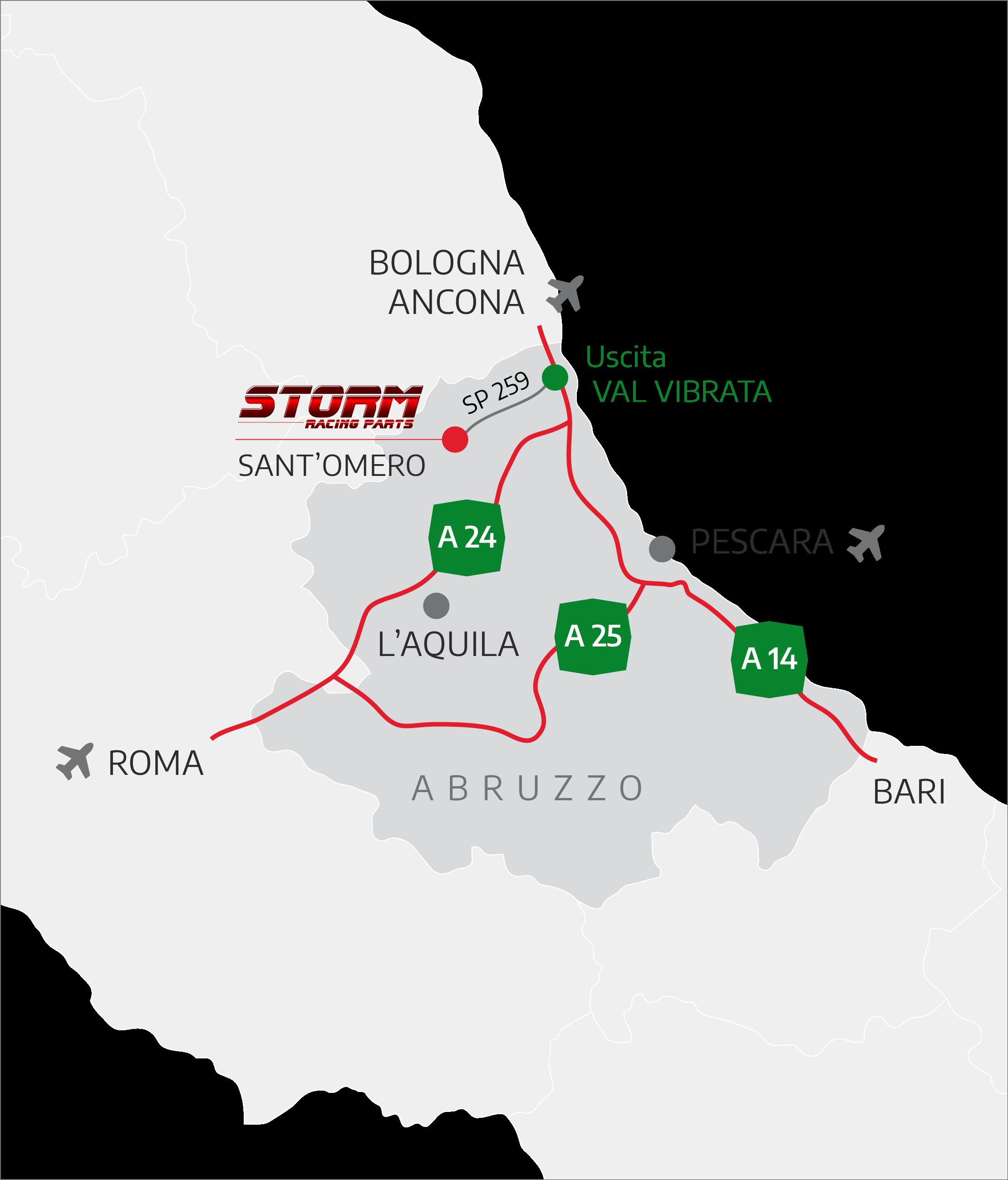 Storm in Abruzzo
