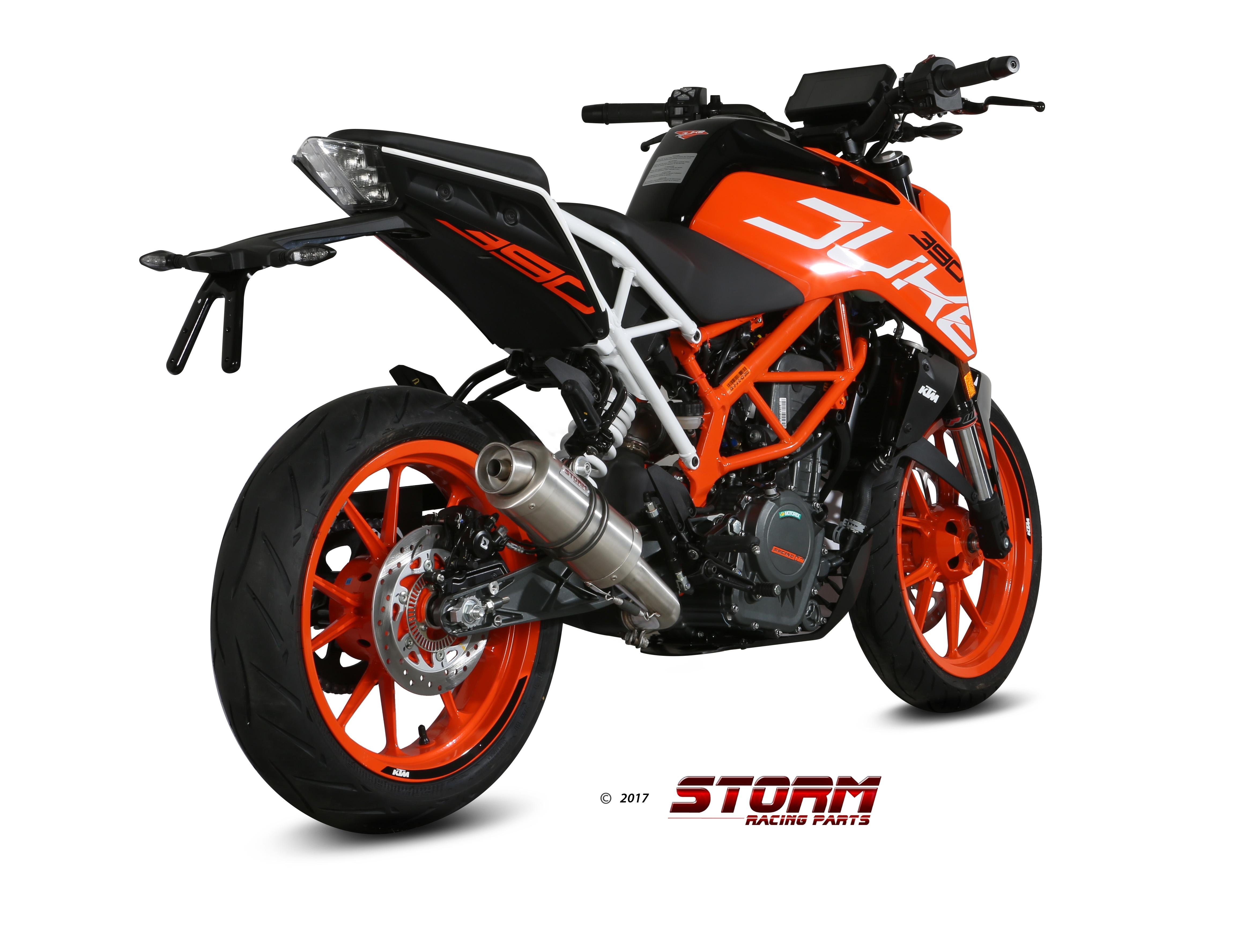 Scarico KTM 390 DUKE Storm Gp Inox 74.KT.019.LXS