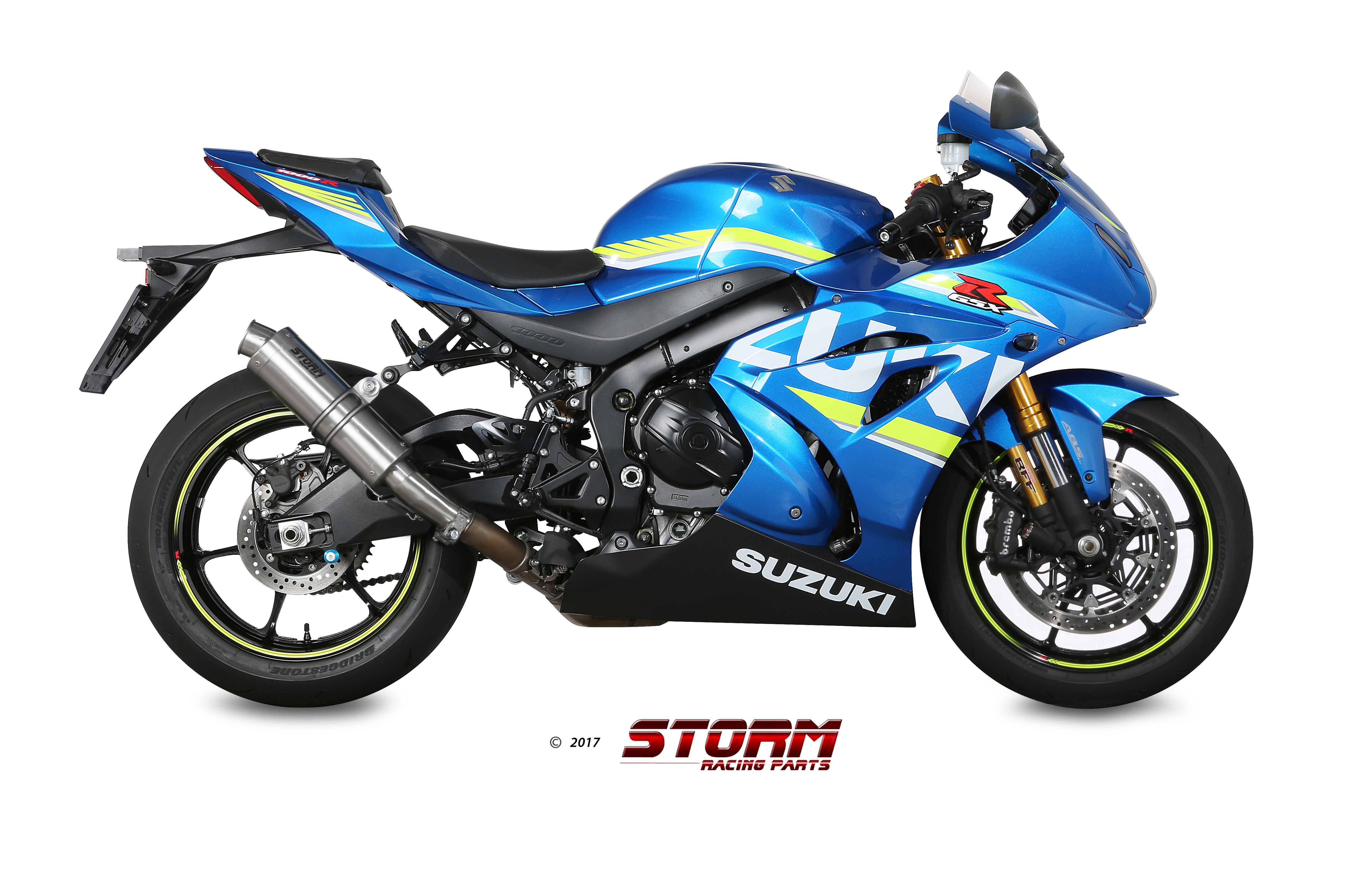 SUZUKI GSX-R 1000 Exhaust Storm Gp Stainless steel S.050.LXS