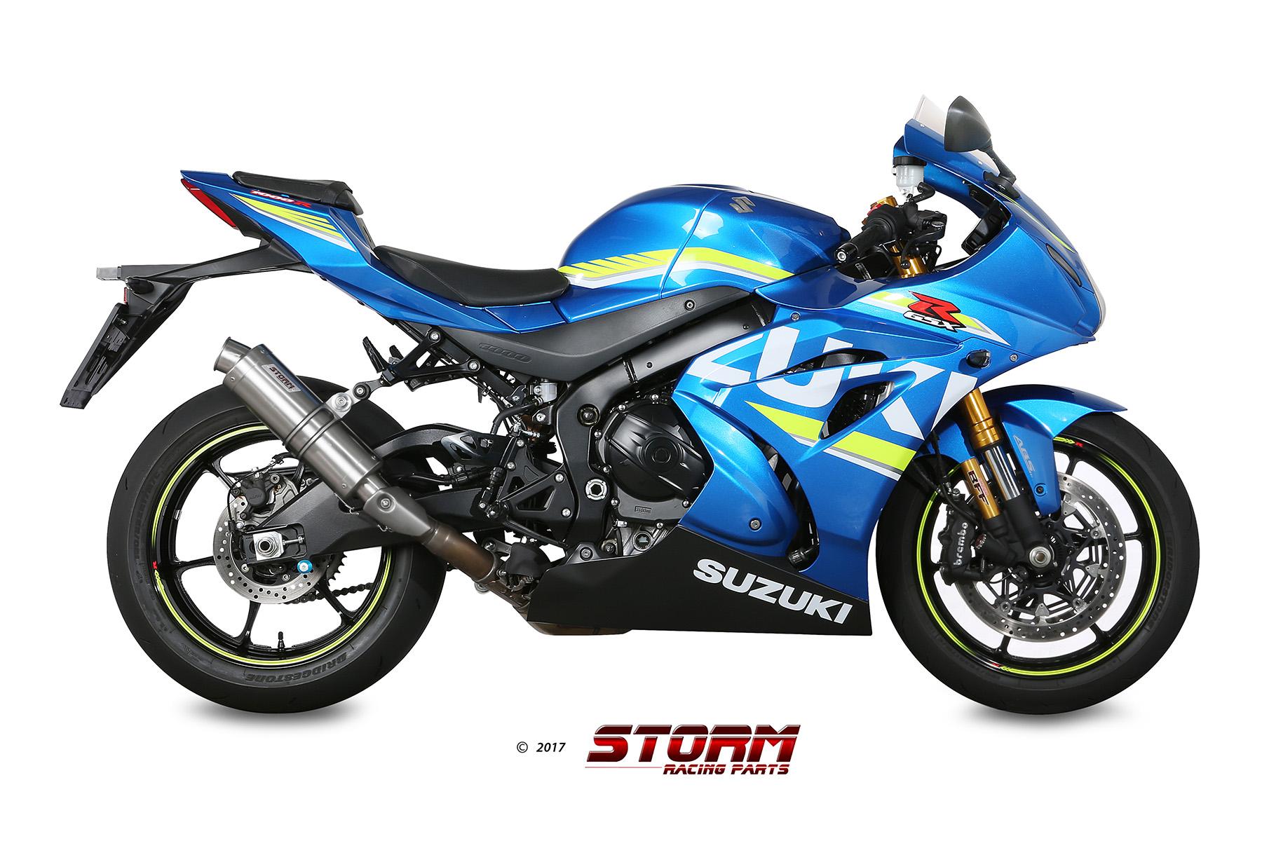 SUZUKI GSX-R 1000 Exhaust Storm Gp Stainless steel 74.S.050.LXS