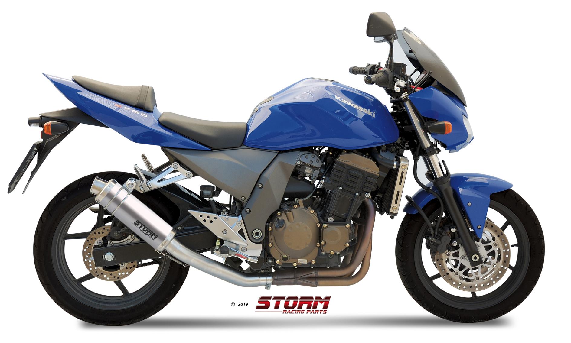 KAWASAKI Z 750 Exhaust Storm Gp Stainless steel 74.K.011.LXS