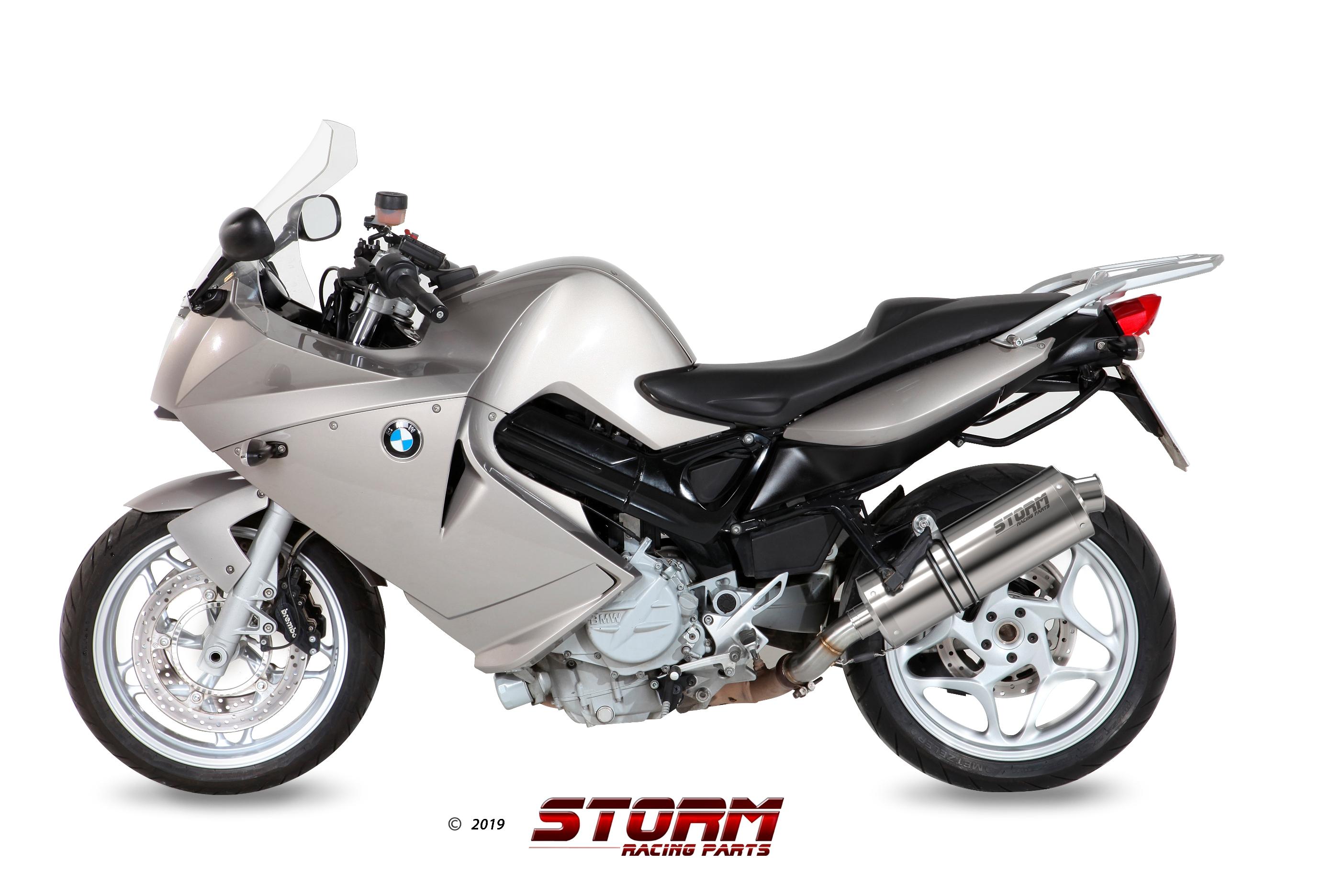 Scarico BMW F 800 S / ST Storm Oval Inox 74.B.023.LX2