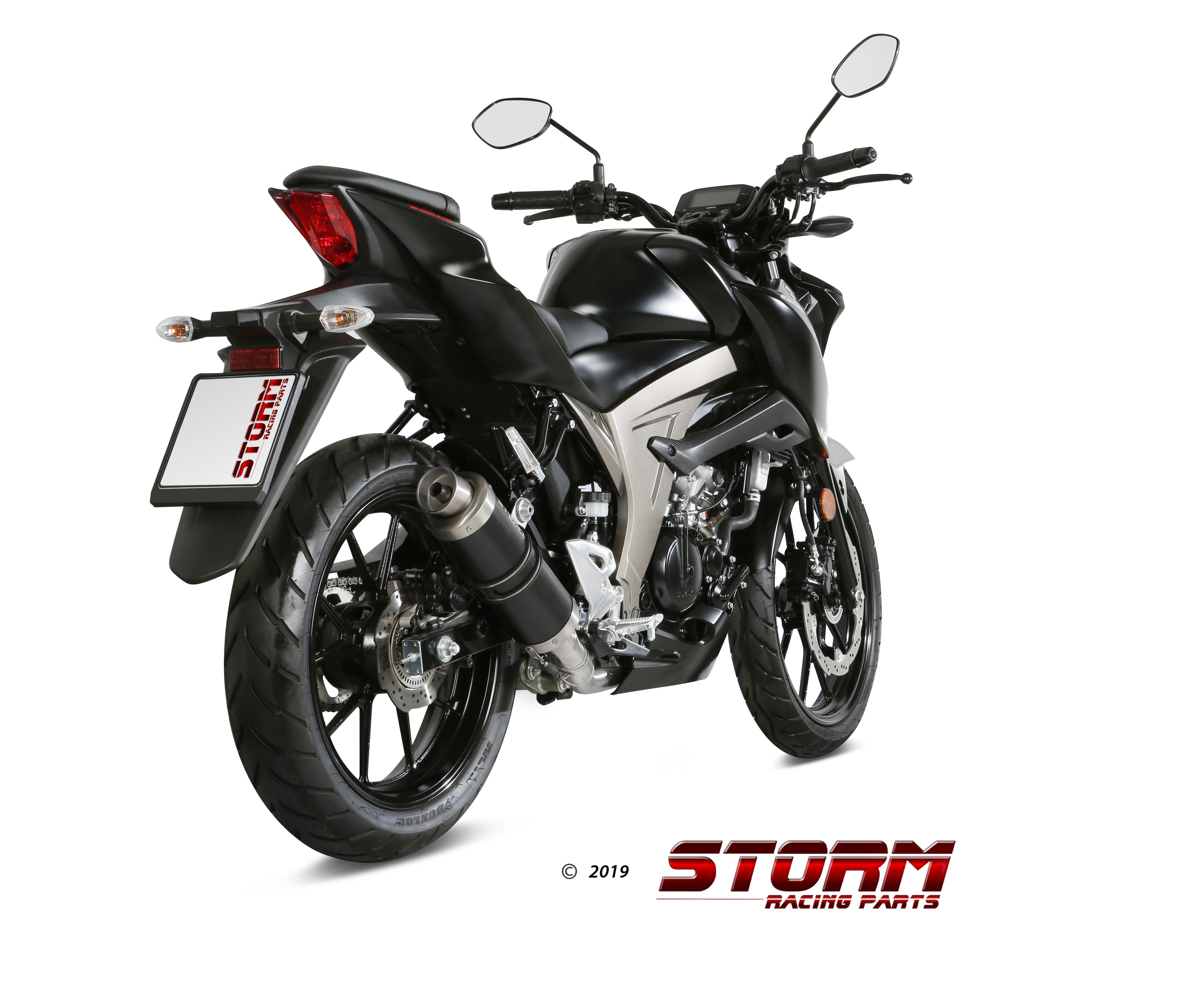 Storm HEAT SHIELD COVER 74.ACC.050.0 for SUZUKI GSX-S 125