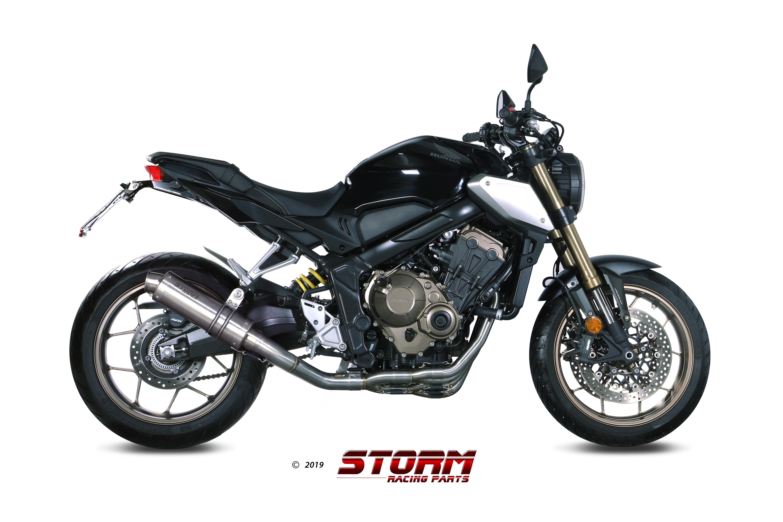 Scarico HONDA CB 650 R Storm Gp Inox 74.H.072.LXS